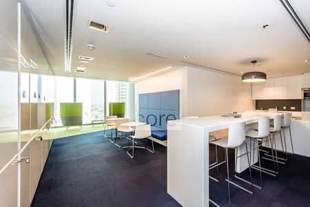 مکتب  للايجار في شارع الشيخ زايد، دبي - Vacant fitted partitioned office | Rolex