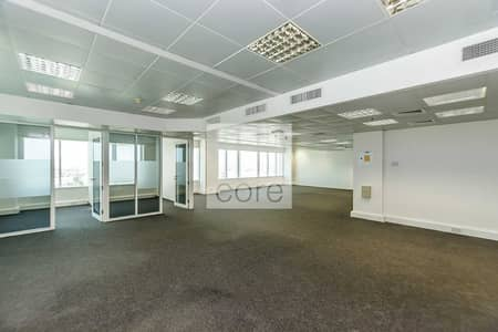 Office for Rent in Sheikh Zayed Road, Dubai - Well located fitted office in Al Moosa T2