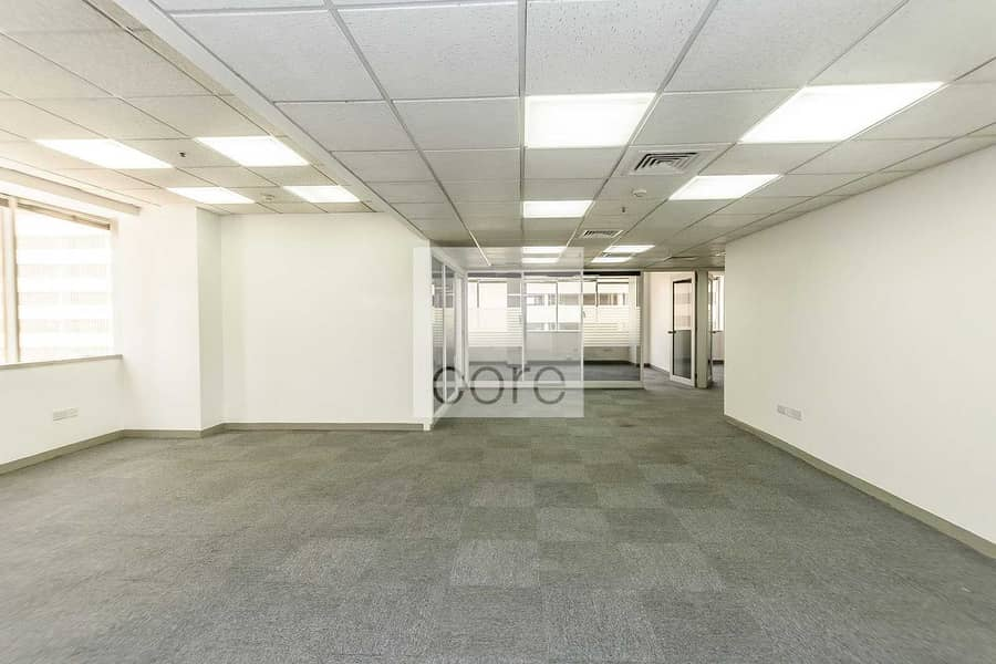 Fitted partitioned office in Al Moosa T1