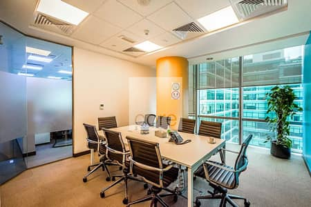 Office for Rent in DIFC, Dubai - Fitted and Partitioned | Service Charge Incl