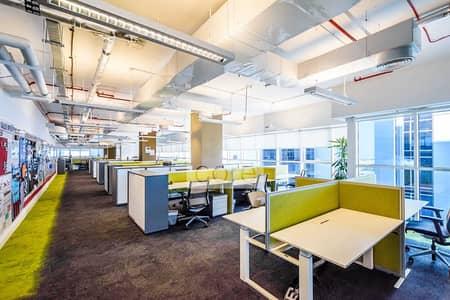 مکتب  للايجار في كابيتال سنتر، أبوظبي - High Floor | Fitted and Furnished | Vacant