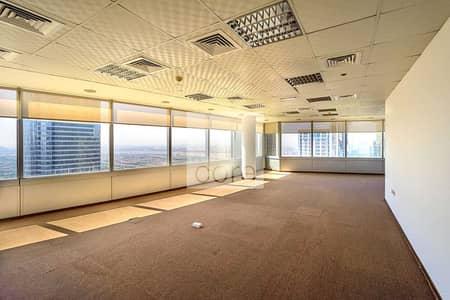 مکتب  للايجار في أبراج بحيرات الجميرا، دبي - Fully Fitted Office | Vacant | High Floor