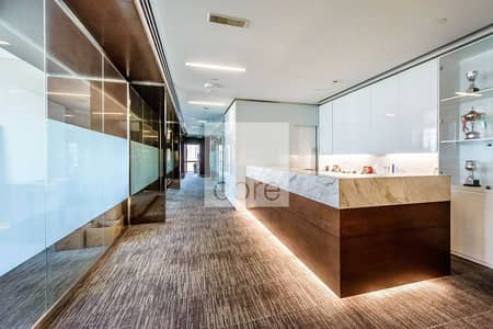 مکتب  للايجار في وسط مدينة دبي، دبي - Fitted and Furnished   Burj Khalifa Views