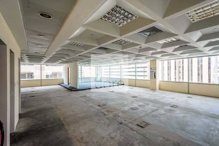 Office for Rent in Deira, Dubai - Vacant fitted office in Al Masaood for rent