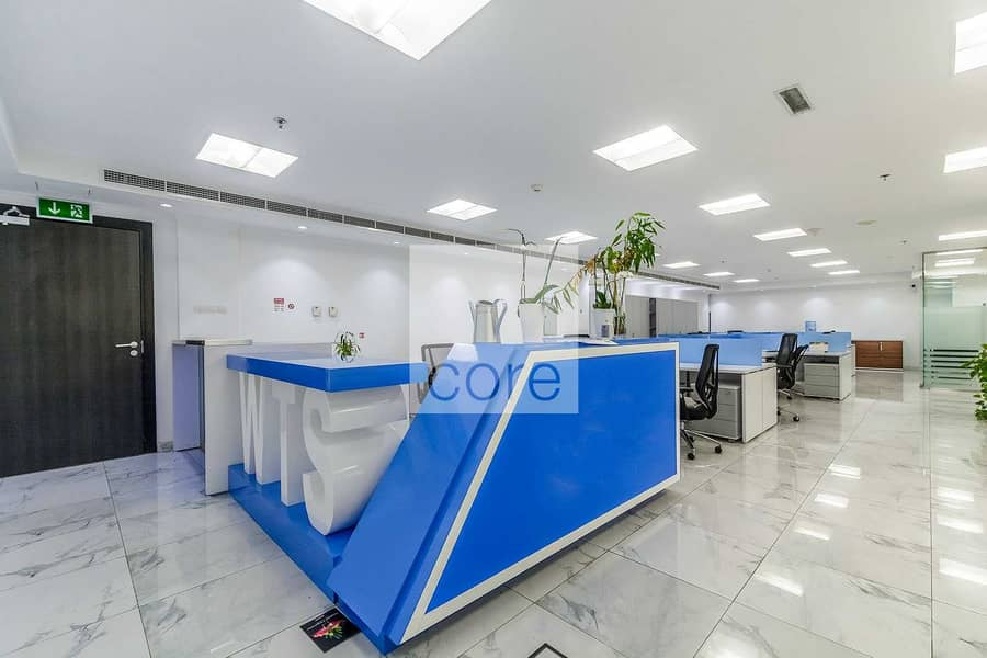 Spacious Fitted Office   Mid Floor   Parking