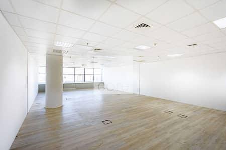 مکتب  للايجار في شارع الشيخ زايد، دبي - Mid Floor   Fitted Unit   Utilities Included