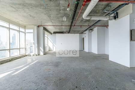 مکتب  للبيع في أبراج بحيرات الجميرا، دبي - High floor shell and core in Liwa Heights