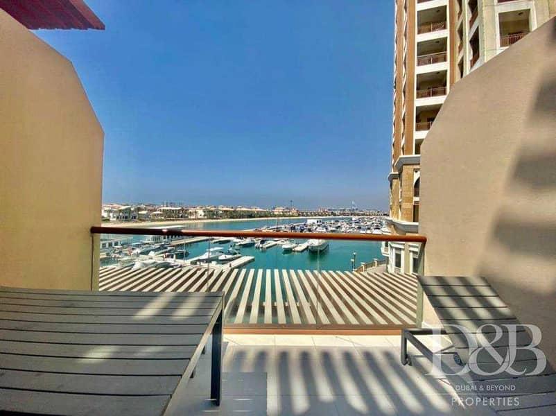 2 Studio | Unfurnished | Burj & Sea Views