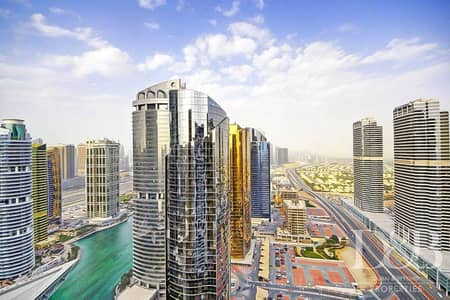3 Bedroom Flat for Sale in Jumeirah Lake Towers (JLT), Dubai - High Floor | Best Priced 3BR  | Marina View