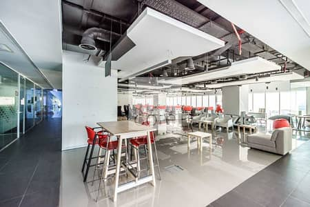 Floor for Rent in Dubai Marina, Dubai - Fully Fitted and Partitioned Office   Parking