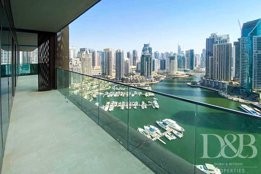 2 Full Marina View | Unfurnished | Vacant