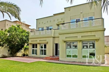 5 Bedroom Villa for Rent in The Lakes, Dubai - Fully Upgraded Villa   Large Private Garden