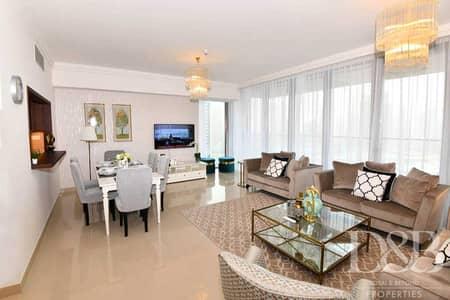 فلیٹ 2 غرفة نوم للايجار في وسط مدينة دبي، دبي - Burj and Fountain View   2 BR   Spacious