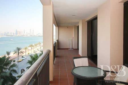 2 Bedroom Apartment for Sale in Palm Jumeirah, Dubai - Sea View | Vacant on Transfer | Furnished