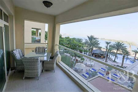1 Bedroom Apartment for Sale in Palm Jumeirah, Dubai - Full Sea & Burj Al Arab View |Furnished B Type