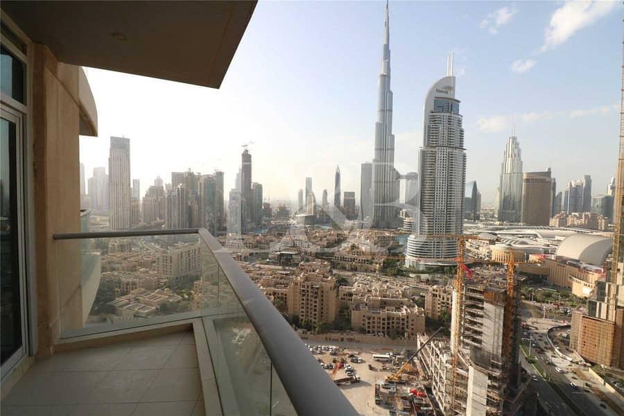Best Layout | Bright and Full Burj Khalifa View