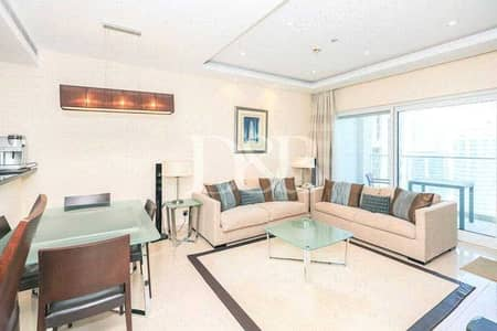 2 Bedroom Flat for Sale in Jumeirah Lake Towers (JLT), Dubai - Luxury Furnished | High Level | Marina View