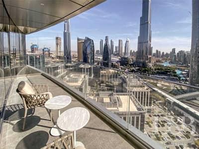 فلیٹ 2 غرفة نوم للايجار في وسط مدينة دبي، دبي - All Bills Included | Full Burj Khalifa View