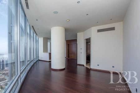 شقة 2 غرفة نوم للايجار في وسط مدينة دبي، دبي - Fountain View | High Floor | Vacant