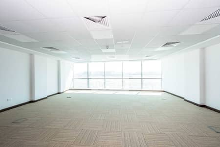 مکتب  للايجار في دبي الجنوب، دبي - Fitted office available | Business Park