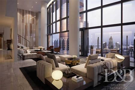 6 Bedroom Penthouse for Sale in Downtown Dubai, Dubai - 6 Yrs Payment Plan | Resale | Best in Il Primo