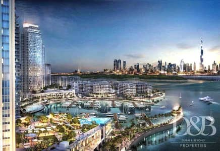 2 Bedroom Townhouse for Sale in The Lagoons, Dubai - Podium Unit | Water & Burj View | Resale