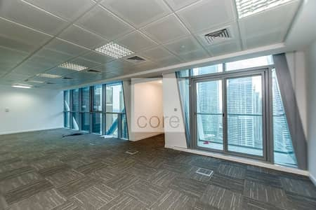 Office for Sale in Jumeirah Lake Towers (JLT), Dubai - Fitted and Partitioned Office I High Floor