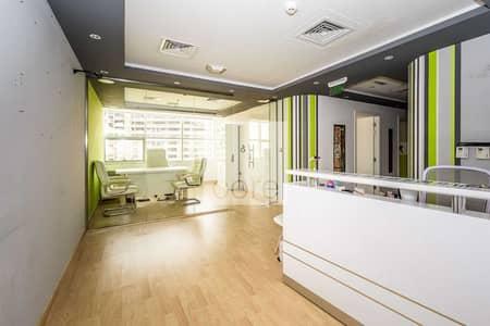 مکتب  للبيع في أبراج بحيرات الجميرا، دبي - Fitted office available in Mazaya BB2
