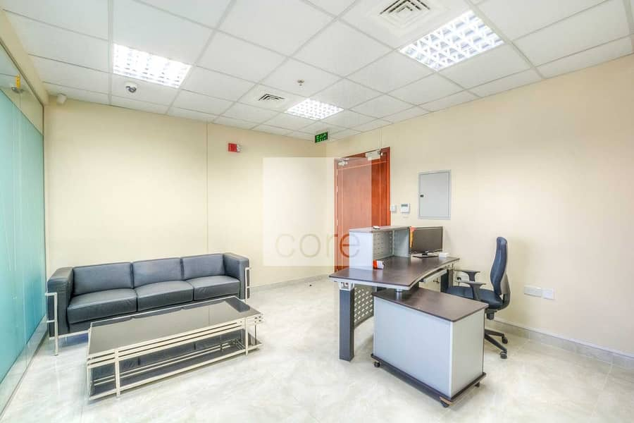2 furnished office in Platinum Tower