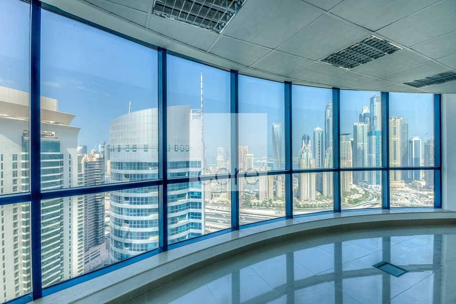 2 Fitted office available in Jumeirah Bay X3