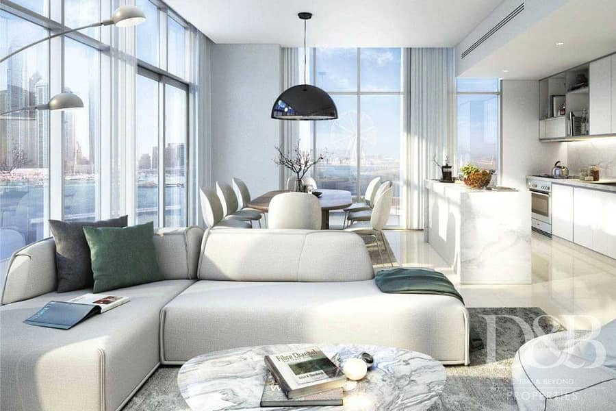 2 Resale   3 Yrs Post Payment Plan   Stunning 1 BR