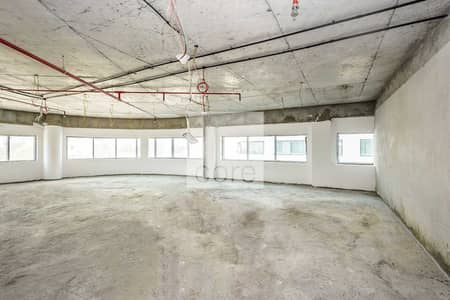 Office for Rent in Al Garhoud, Dubai - Corner Office I Shell and Core I Low Flr