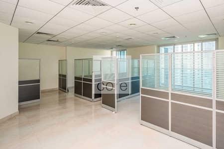 مکتب  للايجار في أبراج بحيرات الجميرا، دبي - Fitted office available in Armada 2