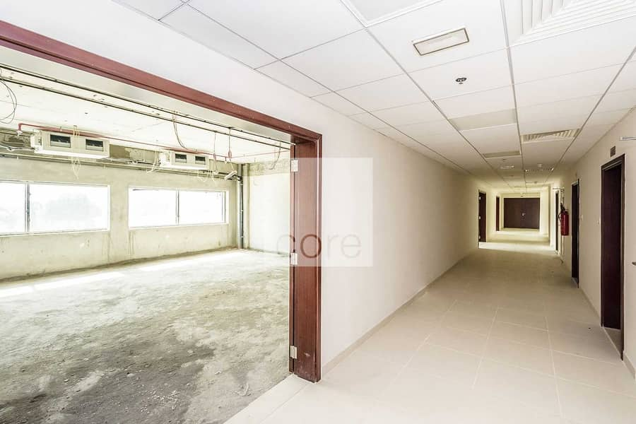 2 Full Floor Office Space I Shell and Core