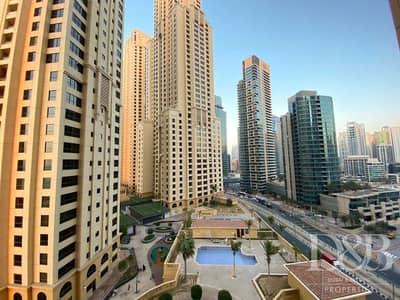 فلیٹ 1 غرفة نوم للبيع في جميرا بيتش ريزيدنس، دبي - Partial Marina View | Spacious | Vacant