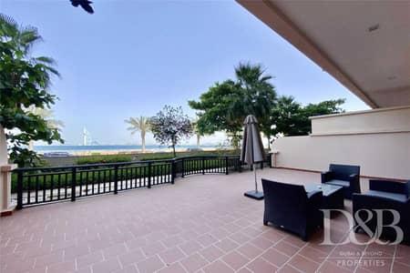2 Bedroom Flat for Rent in Palm Jumeirah, Dubai - Sea View | Huge Terrace | Beach Access