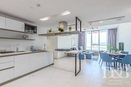 شقة 2 غرفة نوم للايجار في نخلة جميرا، دبي - City Views | Study | Terrace | Furnished