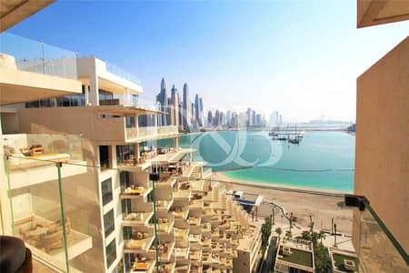 شقة 2 غرفة نوم للايجار في نخلة جميرا، دبي - Furnished unit | Sea Views | Big terrace