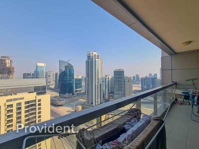 فلیٹ 1 غرفة نوم للبيع في وسط مدينة دبي، دبي - High Floor | Well Maintained | Stunning City Views