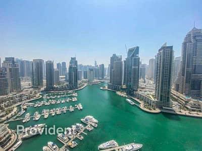 3 Bedroom Flat for Rent in Dubai Marina, Dubai - Full Marina View | Luxury Living | Brand New