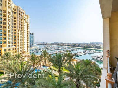 2 Bedroom Flat for Sale in Palm Jumeirah, Dubai - Sea View | Large Terrace | White Kitchen Worktops