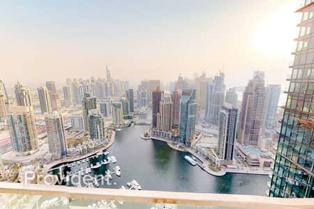 4 Bedroom Penthouse for Sale in Dubai Marina, Dubai - Duplex Penthouse |Panoramic Marina View |435 SQ. M.