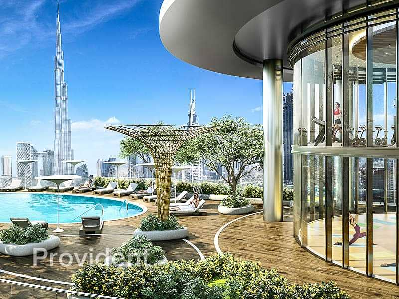Affordable Luxury   Full Burj View