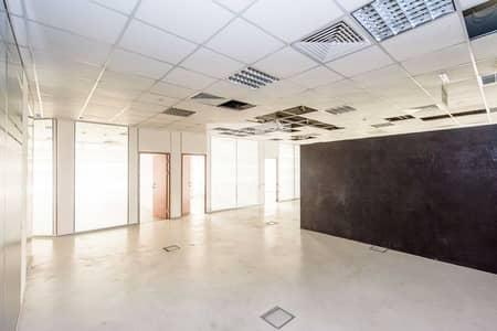 مکتب  للايجار في مجمع دبي للاستثمار، دبي - Fitted Office | DEWA Included | Low Floor
