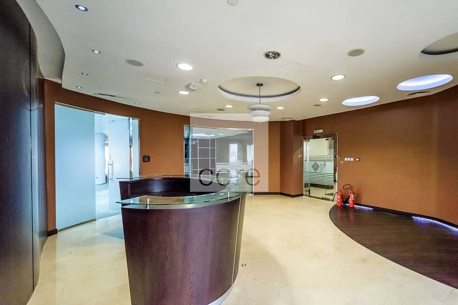 2 Chiller and DEWA Free | Fitted Office in DIP