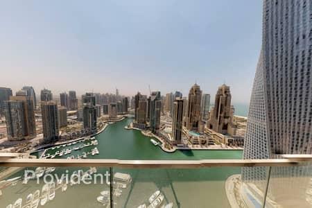 فلیٹ 3 غرف نوم للايجار في دبي مارينا، دبي - 3BR Center Unit   Full Marina View   Move In Ready