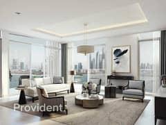 شقة في بالاس بيتش ريزيدنس إعمار الواجهة المائية دبي هاربور 2 غرف 3107888 درهم - 5146127