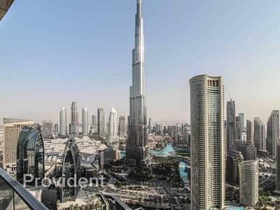 شقة 4 غرف نوم للايجار في وسط مدينة دبي، دبي - First Class Living | Burj Khalifa View | Luxury