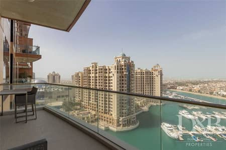فلیٹ 2 غرفة نوم للبيع في نخلة جميرا، دبي - Must Sell | Stunning Full Sea View | Well-Kept