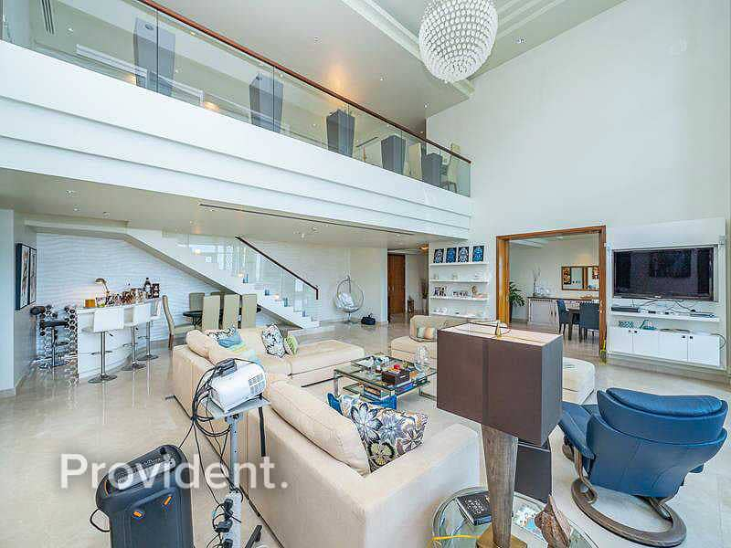 2 Luxurious furnished Duplex with Palm views